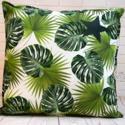 "Handgemaakte kussen ""plant"" 1 50x50 cm"