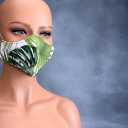 Medisch gezichtsmasker groen blad