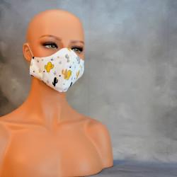 Mondkapje of medisch gezichtsmasker of mondkapje cactussen
