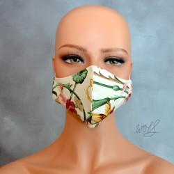 Mondkapje of gezichtsmasker tropical