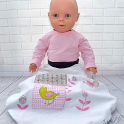 Trappelzak voor baby's grijs