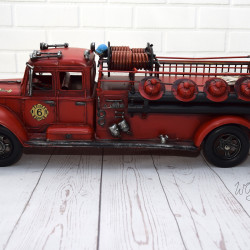Brandweerauto Metaal Heel groot